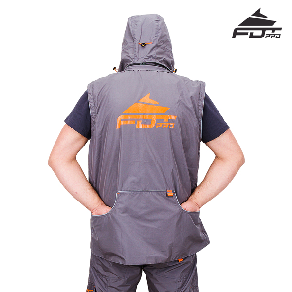Best quality Dog Trainer Suit Grey Color from FDT Wear