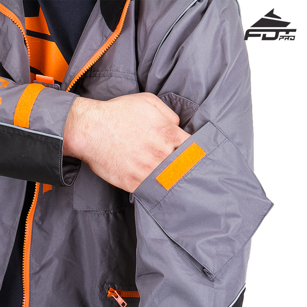 FDT Professional Design Dog Tracking Jacket with Comfortable Sleeve Pocket