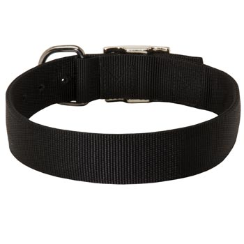 Nylon Collar for Black Russian Terrier Comfy Training