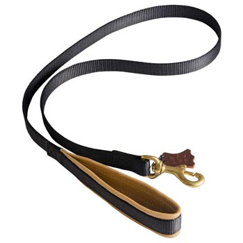 Special Nylon Dog Leash Comfortable to Use for Black Russian Terrier